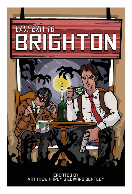 Last Exit To Brighton - Black and White 90-page Graphic Novel