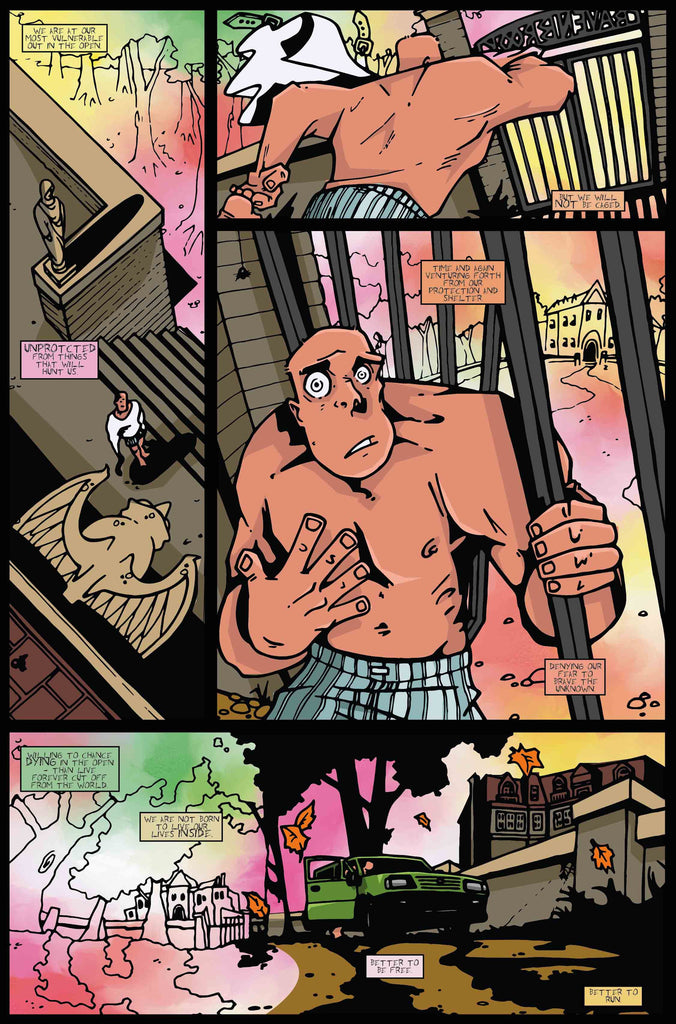 Madhouse #2 - 28 page full colour second issue.