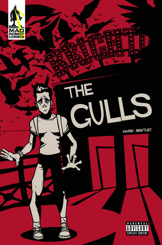 The Gulls #1 - 12 page short horror comic.