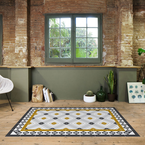 Barcelona Modernist: Rug - Table Runners - Placemats - Mod: Muntaner