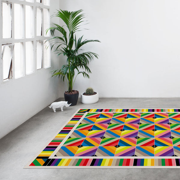Barcelona Modernist:  Rug - Table Runners - Placemats - Mod. Tamarit