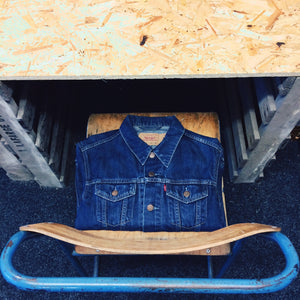 LEVIS BLUE DENIM JACKET
