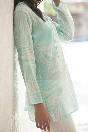 Island View Cotton Tunic Beach Coverup KV415