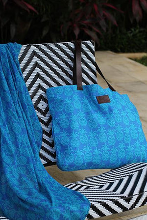 Tango Cotton Beach Bag KVBBTN