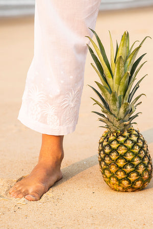 Aloha Beach Cotton Pants KV498