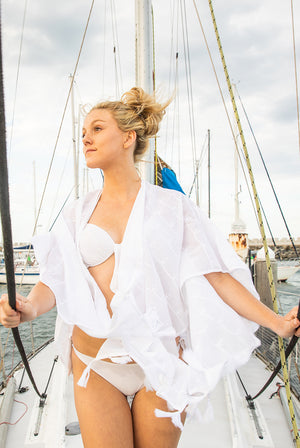 At Anchor Kimono Beach Coverup KV454