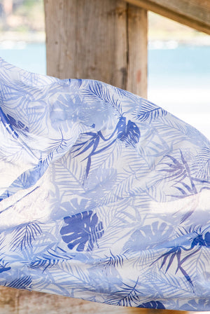 Bird of Paradise Printed Cotton Sarong Pareo KVBDPR