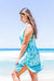 Boho Shell Cotton Beach Dress KV462