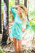 Coastal Cotton Beach Tunic Coverup KV503