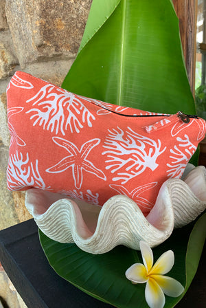 Coral Reef Wet Bikini Bag KVWBCR