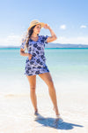 Hibiscus Cotton Beach Dress KV464