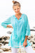 Island Girl Cotton Beach Tunic Coverup KV520