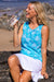 Coral Reef Cotton Beach Tank Top KV536