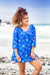 Mermaid Cotton Beach Tunic Coverup KV505
