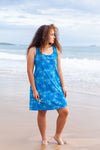 Plumeria Cotton Beach Dress KV450