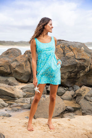 St.Barths Cotton Beach Dress KV402