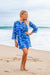 Aquarium Cotton Beach Tunic Coverup KV463