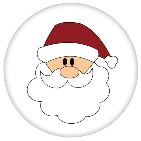 Cartoon Santa.