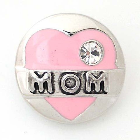 Mom's heart in pink