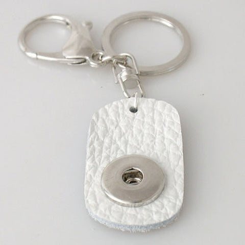 White single keyring