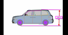 TX5 Taxi Oxford CAD