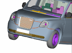 TX5 Taxi Oxford CAD 5