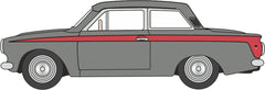 76COR1008 Ford Cortina MkI Lombard Grey/Red