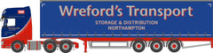 76DXF002 DAF XF Euro 6 Curtainside Wrefords