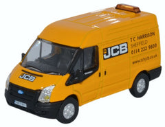 76FT027 Oxford Diecast JCB Ford Transit