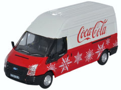 76FT030CC Ford Transit LWB High Coca Cola Xmas