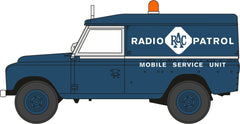 76LAN2017 Land Rover Series II LWB Hard Top RAC Radio Patrol