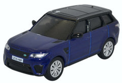 76RRS001 Range Rover Sport SVR  Estoril Blue