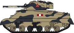 76SM002 Sherman Tank MK III Royal Scots Greys Italy 1943