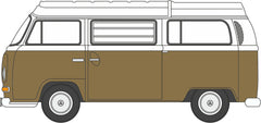 76VW027 VW Bay Window Camper Savannah Beige/White
