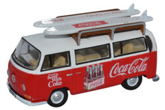 76VW030CC Volkswagen Bay Window Coca Cola