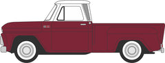 87CP65003 Chevrolet Stepside Pick Up 1965 Maroon Metallic