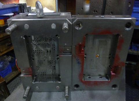 Chassis Mould Open