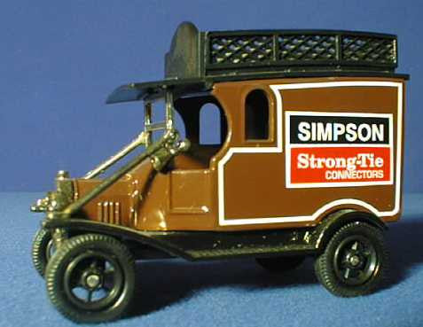 Oxford Diecast Simpson Strong Tie