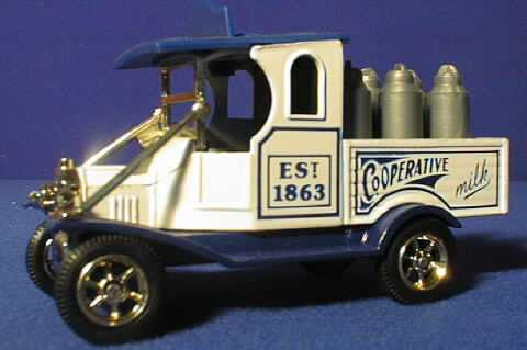 Oxford Diecast Milk Co-op