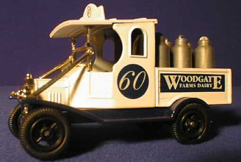 Oxford Diecast Woodgate Milk Truck