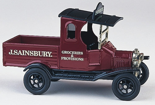 Oxford Diecast Sainsburys Cereal Truck