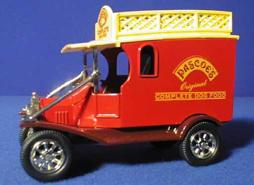 Oxford Diecast Pascoes Van