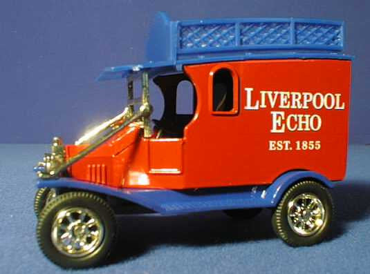 Oxford Diecast Liverpool Echo
