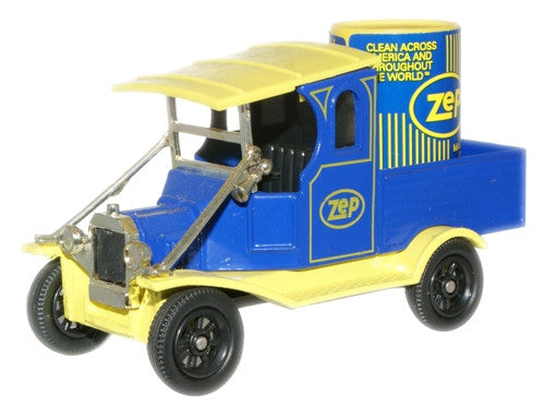 Oxford Diecast ZEP T Can Truck Yellow