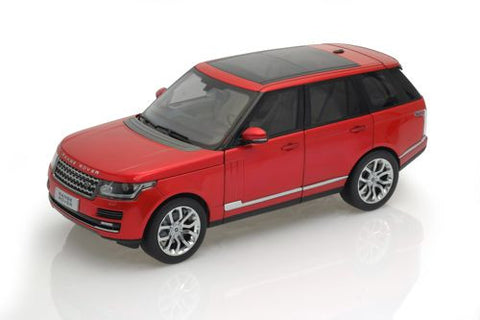 GT AUTOS Land Rover Range Rover 2013 Red - 1:18 Scale - OxfordDiecast