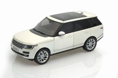 GT AUTOS Land Rover Range Rover 2013 White - 1:18 Scale - OxfordDiecast