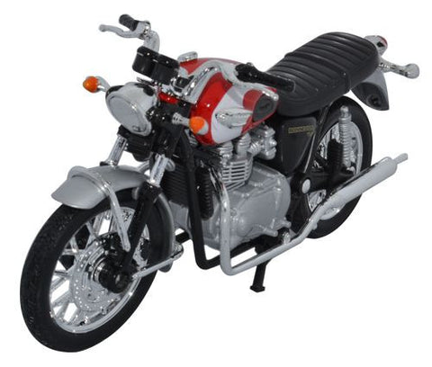 WELLY 2002 TRIUMPH BONNEVILLE T100 - 1:18 Scale
