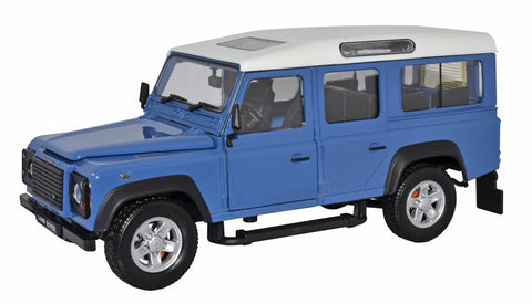 Land Rover Defender (Grey Blue) 1:24