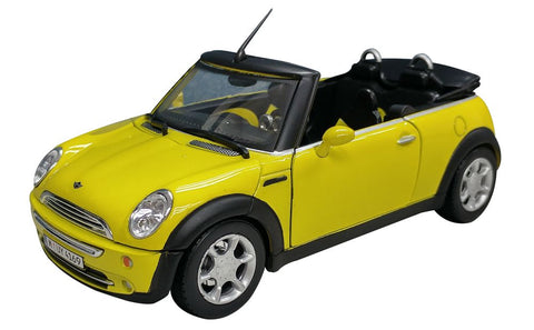 Cararama New Mini Convertible Yellow