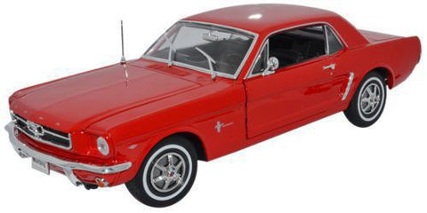 WELLY Ford Mustang 1964 Red - 1:18 Scale